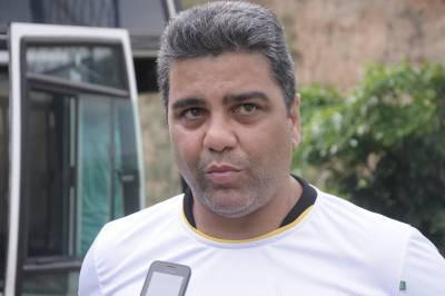 União: Marcelo Cabo sabe que jogo de logo mais será uma pedreira e pede apoio dos torcedores (Foto: Paulo Dimas)