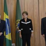 A presidente Dilma Rousseff entrega credenciais a novos embaixadores que atuarão no Brasil(Elza Fiúza/Agência Brasil)Elza Fiúza/Agência Brasil