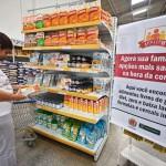Baixando: Movimento nos supermercados pode cair se tendência da pesquisa se confirmar  (Foto: ABr)