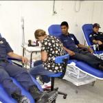 'Uma Guarda mais cidadã': Campanha mobiliza agentes para doarem sangue durante todo o ano  (Foto: Divulgação)
