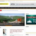 Cara nova: Site do DIÁRIO DO VALE está mais rápido, mais bonito e mais informativo