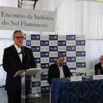 Sob olhar de Jonas: Presidente da Firjan afirma que medidas sustentáveis é questão de solidariedade com a sociedade (Foto: Paulo Dimas)