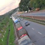 Movimento: Insatisfeitos com o momento político do país, Caminhoneiros têm bloqueado rodovias por todo o Brasil (Foto: Pública)