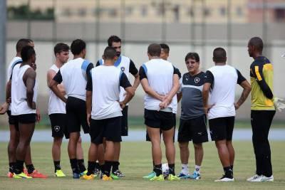 Reunido: Botafogo se preparar para sequência do Campeonato Carioca com moral elevada (Foto: Satiro Sodre/SSPress)