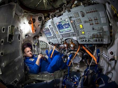 Experiencia: Scott Kelly vai ficar um ano na estação espacial  (Foto:Divulgação)