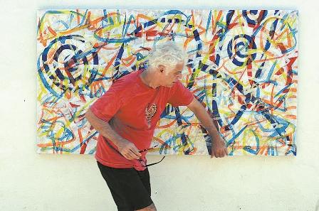 Retrospectiva: Artista plástico Eduardo Amarante expõe as fases de sua carreira na mostra (Foto: Divulgação)