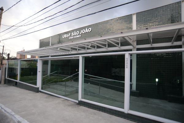Pronto: Posto de saúde do bairro São João será inaugurado ainda esta semana (Foto: Felipe Vieira)