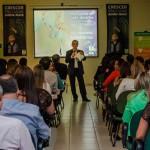 Discurso: Luiz Paulo fala durante inauguração da UTI neonatal (Foto: Divulgação)