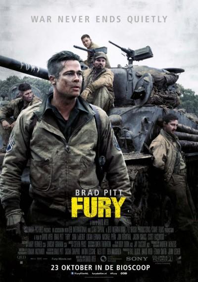 Brad Pitt: A guerra dentro de um tanque (Foto: Divulgação)