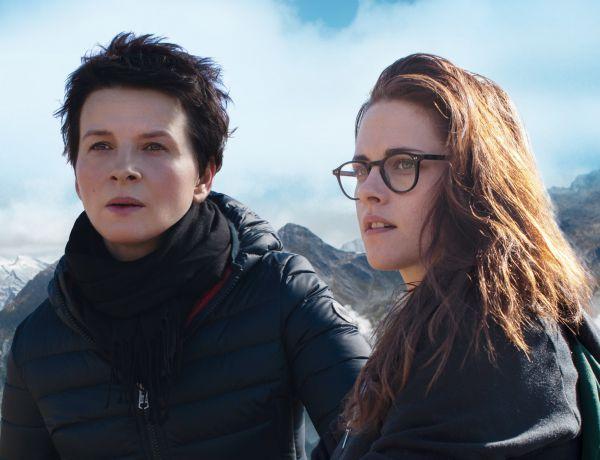 Talento: Binoche e Stewart no cenário nublado dos Alpes (Foto: Divulgação)