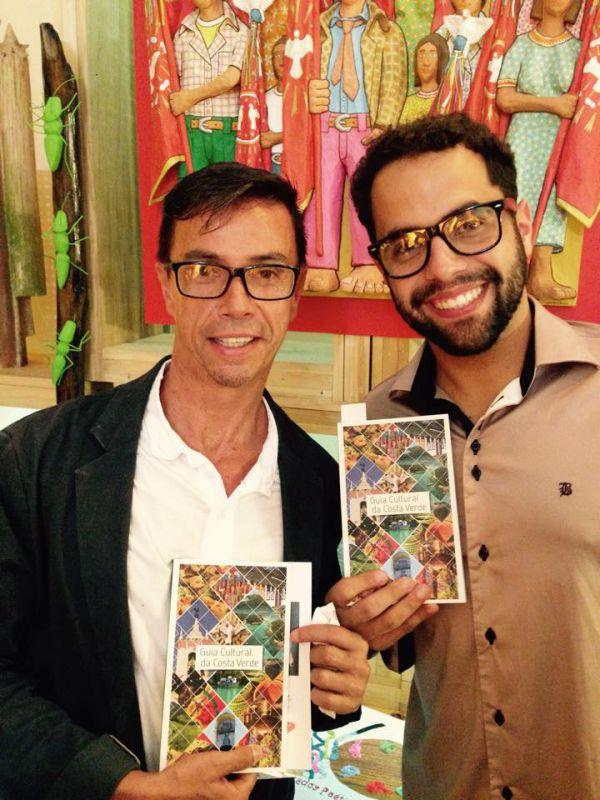 Grupo Cutucurim: Compareceu ao lançamento com os atores Mário dos Anjos e João Vitor Novaes (Foto:Divulgação)