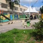 Previsão: Obras na Praça do Boa Vista, em Barra Mansa, devem termina dentro de 90 dias  (Foto: Paulo Dimas)