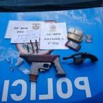Materiais apreendidos (Foto: Polícia Militar)