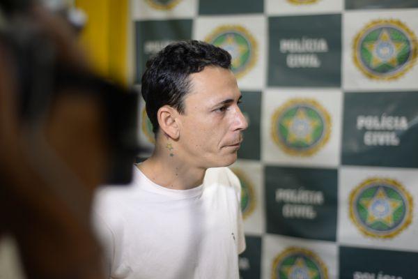 (Foto: Felipe Vieira) Frio: Demonstrando frieza, Wallace contou que depois de matar Gerônimo, lanchou, fez a barba e tomou banho na casa da vítima