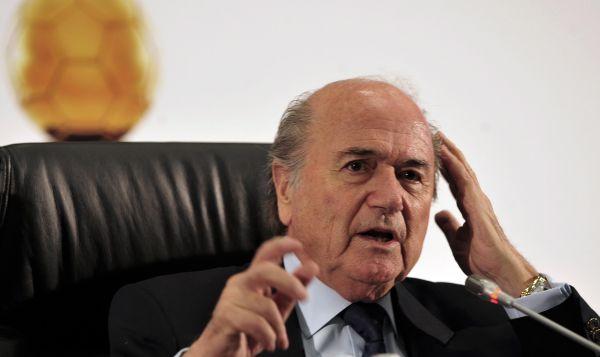 Reeleito: Blatter terá difícil missão de limpar o nome da Fifa (Foto:Divulgação)