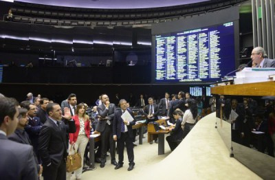 Texto aprovado pela Câmara é do deputado Rodrigo Maia (folto: Gustavo Lima/ Câmara dos Deputados)