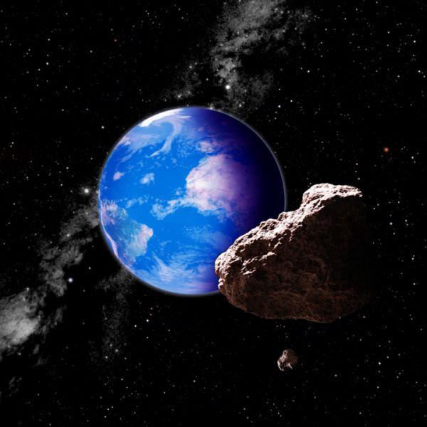 Futuro: Asteroide vai passar perto em 2019  (Foto: Divulgação)