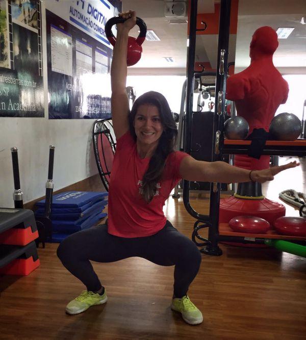 Gabriela Neiva: Há dez anos formada em Educação Física, trabalhando como treinadora e como pesquisadora na linha da 'Antropologia da Saúde e da Doença'  . (Foto: Divulgação)