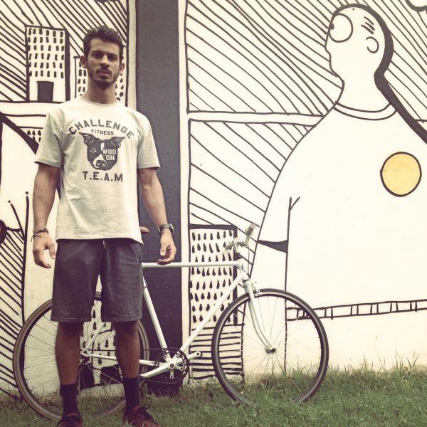 CrossFit level 1: Davi se mudou para a Austrália onde se envolveu com a modalidade esportiva  (Foto: Divulgação)