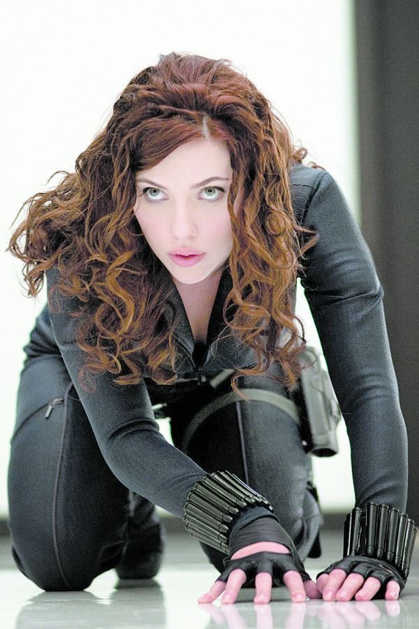 Belíssima: Scarlett Johansson interpreta Viúva Negra, pequena, atraente e fatal (Foto: Divulgação)