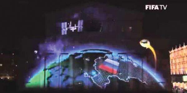 Fifa colocou a Crimeia anexada à Rússia em mapa que exibiu em solenidade em Moscou