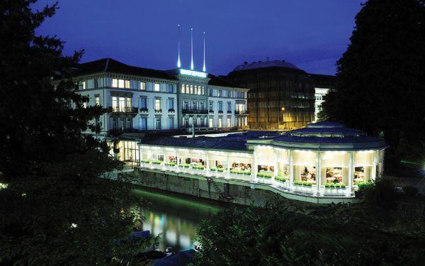 Hotel Baur au Lac, onde foi presa a quadrilha que operava o esquema de corrupção na Fifa