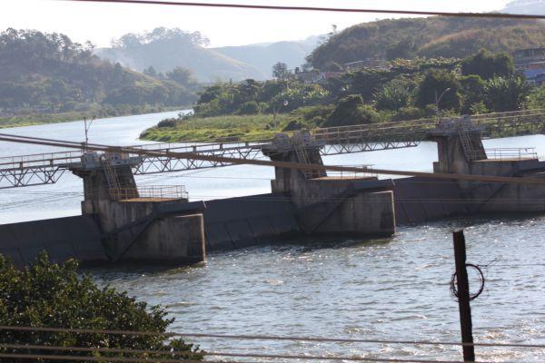 Vazio: Volume de água do Rio Paraíba do Sul em Barra do Piraí continua a preocupar