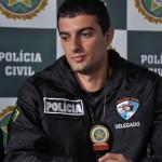 Delegado Rodolfo Atala coordenou as ações que levaram a prisão do suspeito em Volta Redonda (Foto: Arquivo)