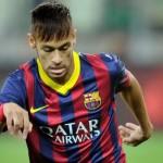 Chegando: Neymar revelou que tem o sonho de vencer torneio mais importante entre clubes da Europa (Foto: Divulgação)