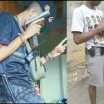 Fortemente armados: Polícia divulgou as fotos que aparecem os procurados exibindo armas de grosso calibre (Foto: Cedida pela 116ª DP)