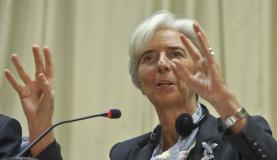 Christine Lagarde diz que o FMI acompanha de perto a situação da Grécia (Marcello Casal Jr./Arquivo/Agência Brasil)