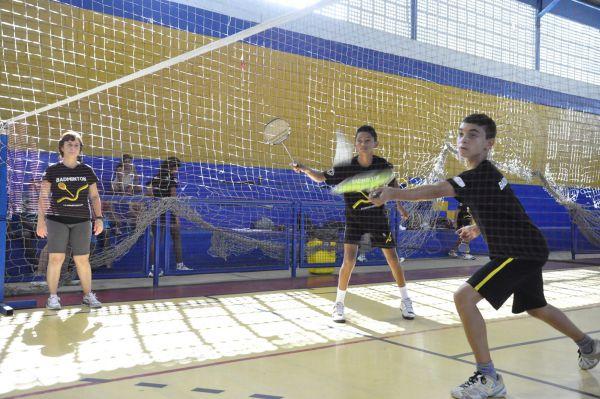 Badminton volta redonda