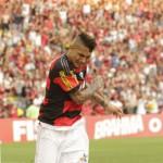 Desabafa: Guerrero voltou a fazer gols após perder chances claras (Foto: Divulgação)