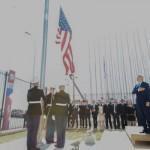 Histórico: Bandeira dos EUA é hasteada em território cubano (Foto: Divulgação)