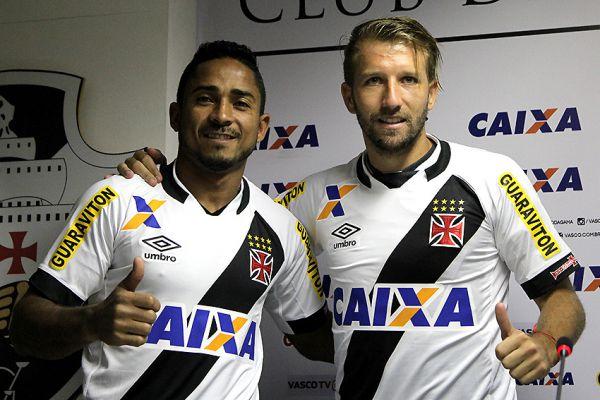 Reforça: Jorge Henrique e Felipe Seymour são apresentados  no Vasco (Foto: Arquivo)