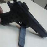 Simulacro de pistola Pinheiral 21 agos 15