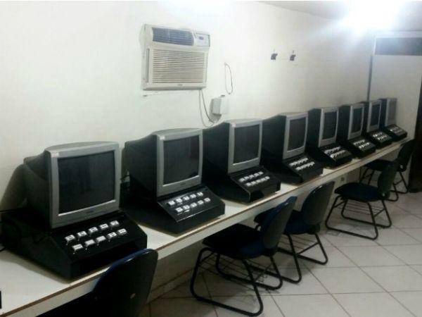 Máquinas foram apreendidas em três pontos de Valença (foto: Cedida pela PM)