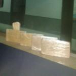 Drogas foram apreendidas na Serrinha de Arrozal (foto: Cedida pela PRF)