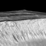 Desoberta: Nasa aponta mais uma prova da existência de água em Marte (Foto: Divulgação)