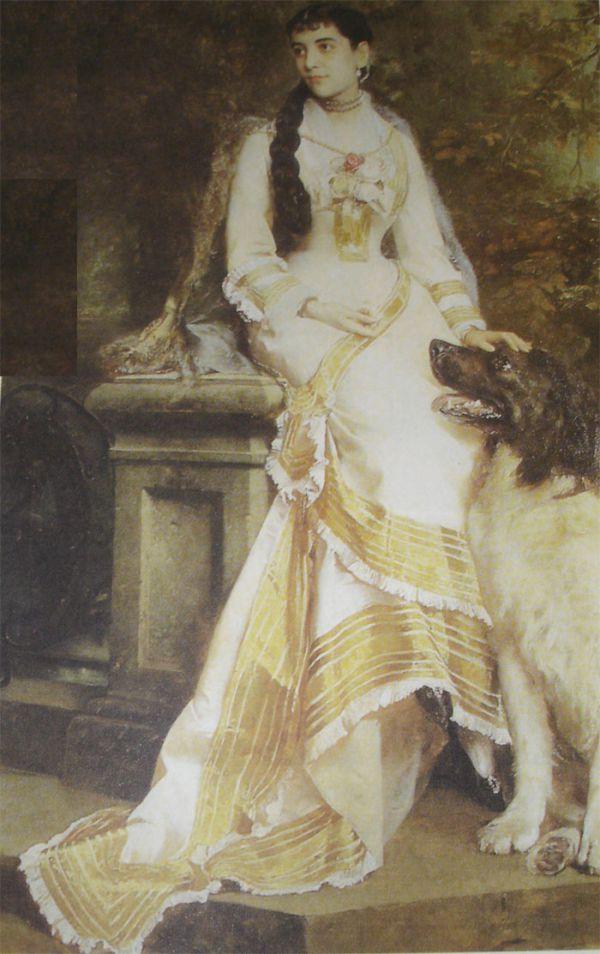 Ana Clara Haritoff: Quadro de Gustav Richter é atualmente um dos destaques no Museu Nacional de Belas Artes, no Rio de Janeiro(Reprodução)