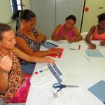 Trabalho e Renda: Curso que tem proporcionado mudança na vida das mulheres é aberto para todas as idades e formação (Foto: Divulgação PMR)