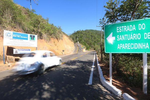 Melhor: Além de ser asfaltada, estrada ficou mais larga