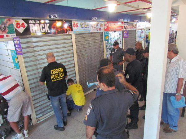 Fiscalização: Operação foi realizada pela Secretaria de Cidadania e Ordem Pública, junto da PM e Guarda Municipal(Foto: Cedida pela prefeitura)