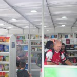 Corredor Cultural: Stand itinerante do 'Mais Leitura' ficará em Barra Mansa até o dia 6 de novembro (Foto: Melissa Carísio)
