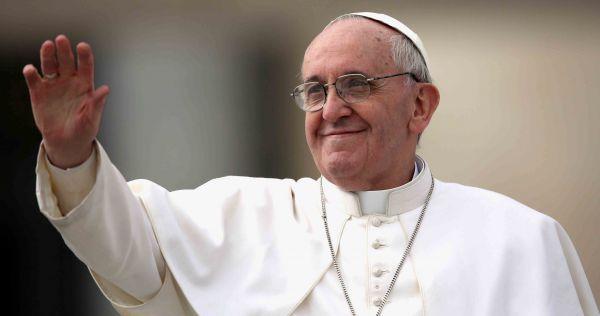 Papa Francisco fez nesta quinta-feira (12) uma homenagem à Nossa Senhora Aparecida (Foto: Arquivo)