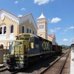 Instalações das estação ferroviária de Barão de Juparanã foi restaurada (foto: Carlos Magno - Governo do Estado)