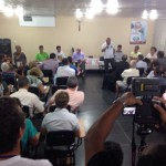 Curia sedia encontro para discutir demissões na CSN