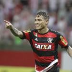 Fiasco: Apesar de chegar com muita expectativa Guerrero deixou a desejar assim como o Flamengo em si