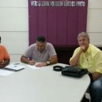 Encontro: Donda, Anderson e Samuel Maia participaram de encontro que visa orientar a formação da Rede em Volta Redonda