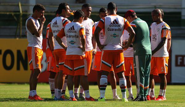 Prepara: Fluminense se prepara para disputa de torneio cheio de polêmica (Foto: Divulgação)